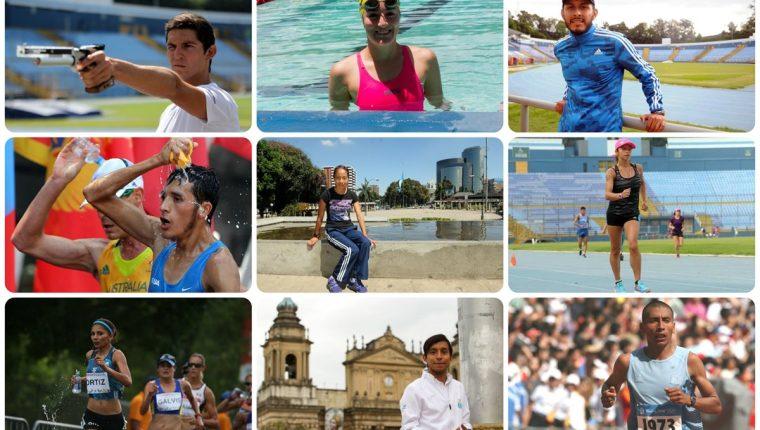 Atletas de Guatemala