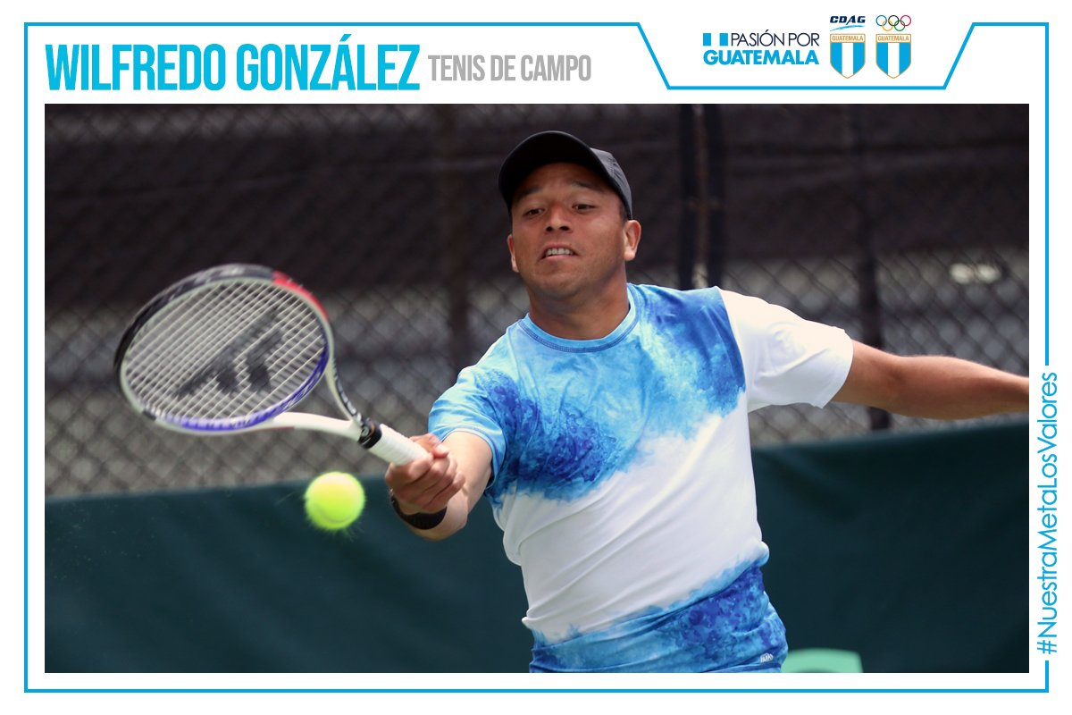 Wilfredo González ganador nacional de tenis