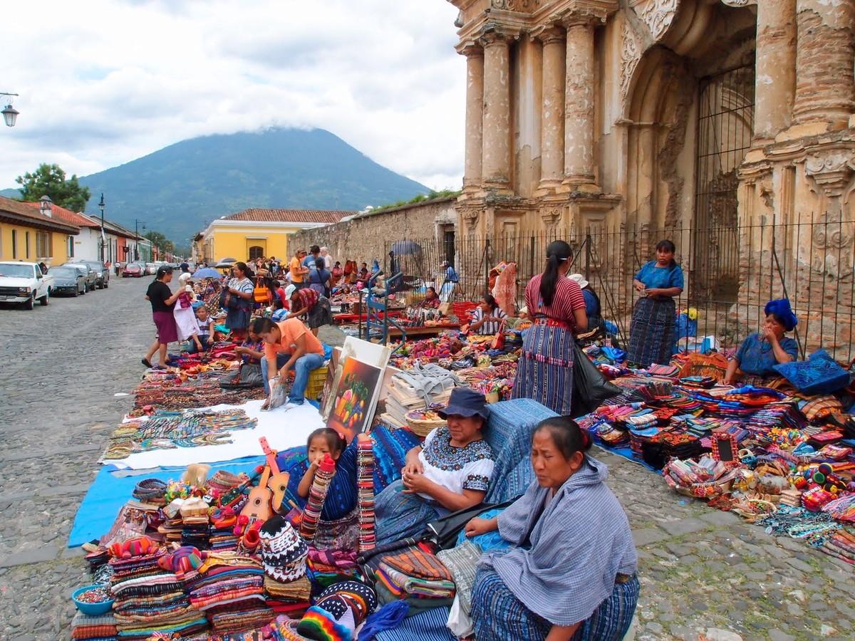 mercados de antigua