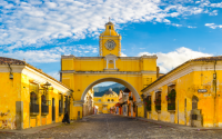 Calle principal de Antigua Guatemala
